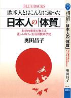 日本人の体質へのリンク